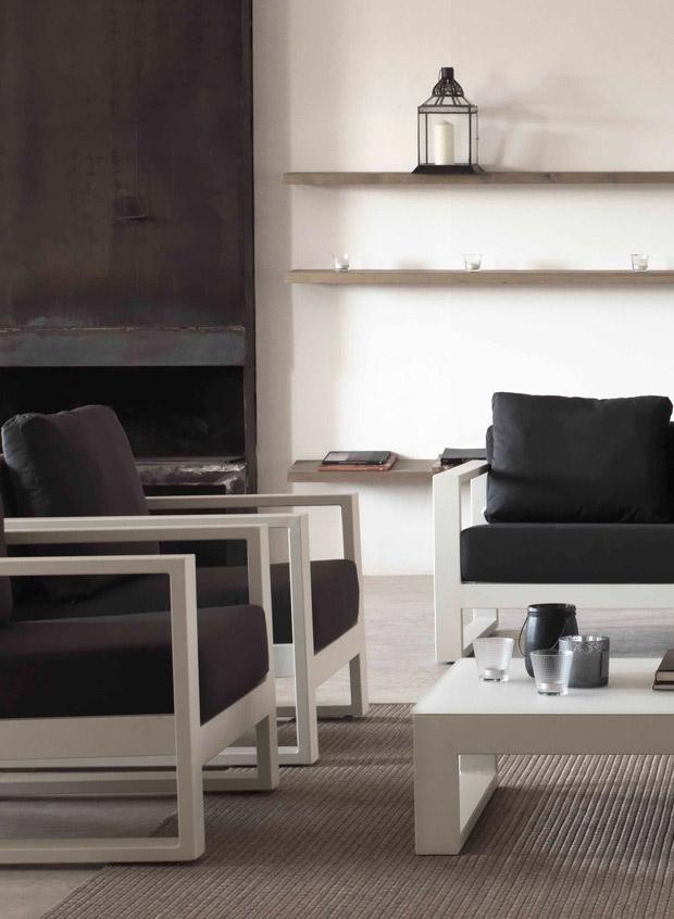 Muebles de exterior gabar 212 bianco for Outlet muebles exterior