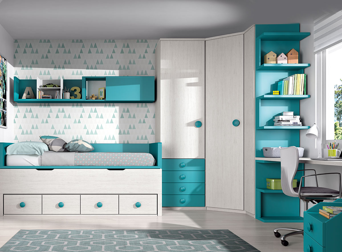 Dormitorio de matrimonio glicerio chaves formas19 for Muebles juveniles formas