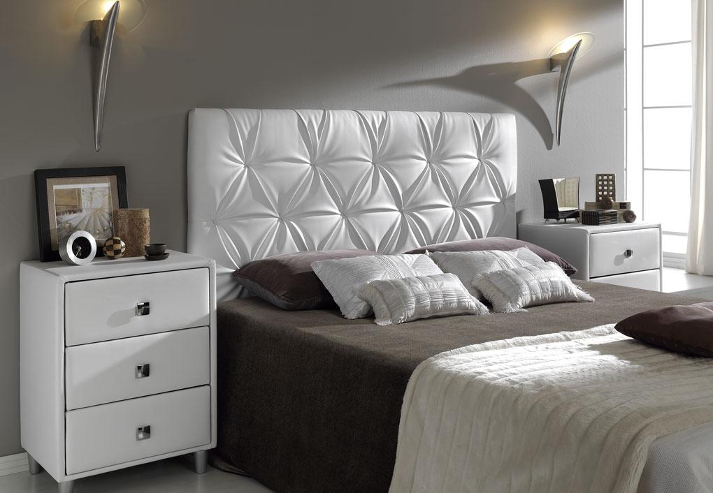 Dormitorio de matrimonio y varios tapizados carrasco cabezal tapizado3 - Cabecero cama acolchado ...