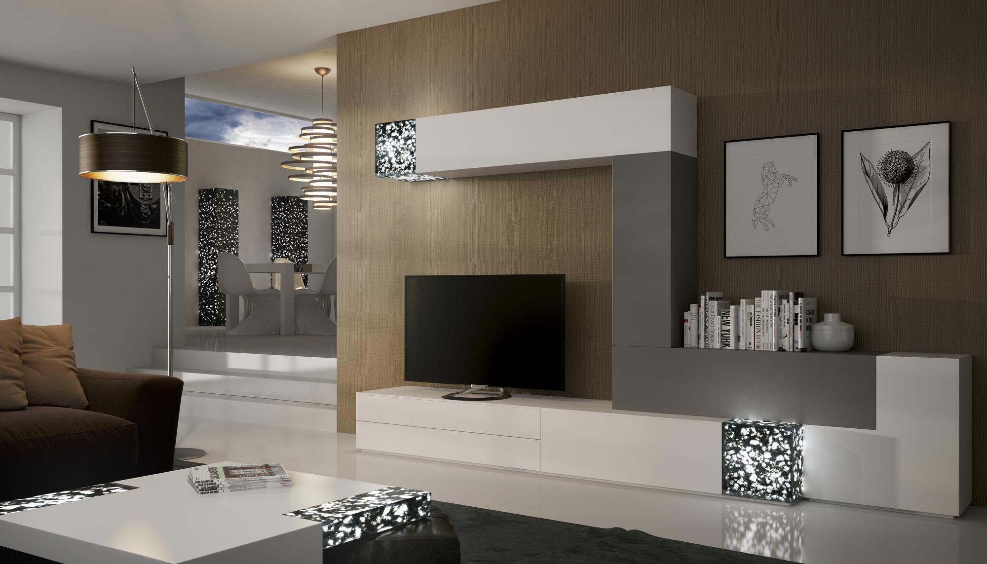 Muebles Zafra Comedores modernos modelo 31 diseño y calidad